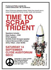 Time to Scrap Trident - Lib Dem